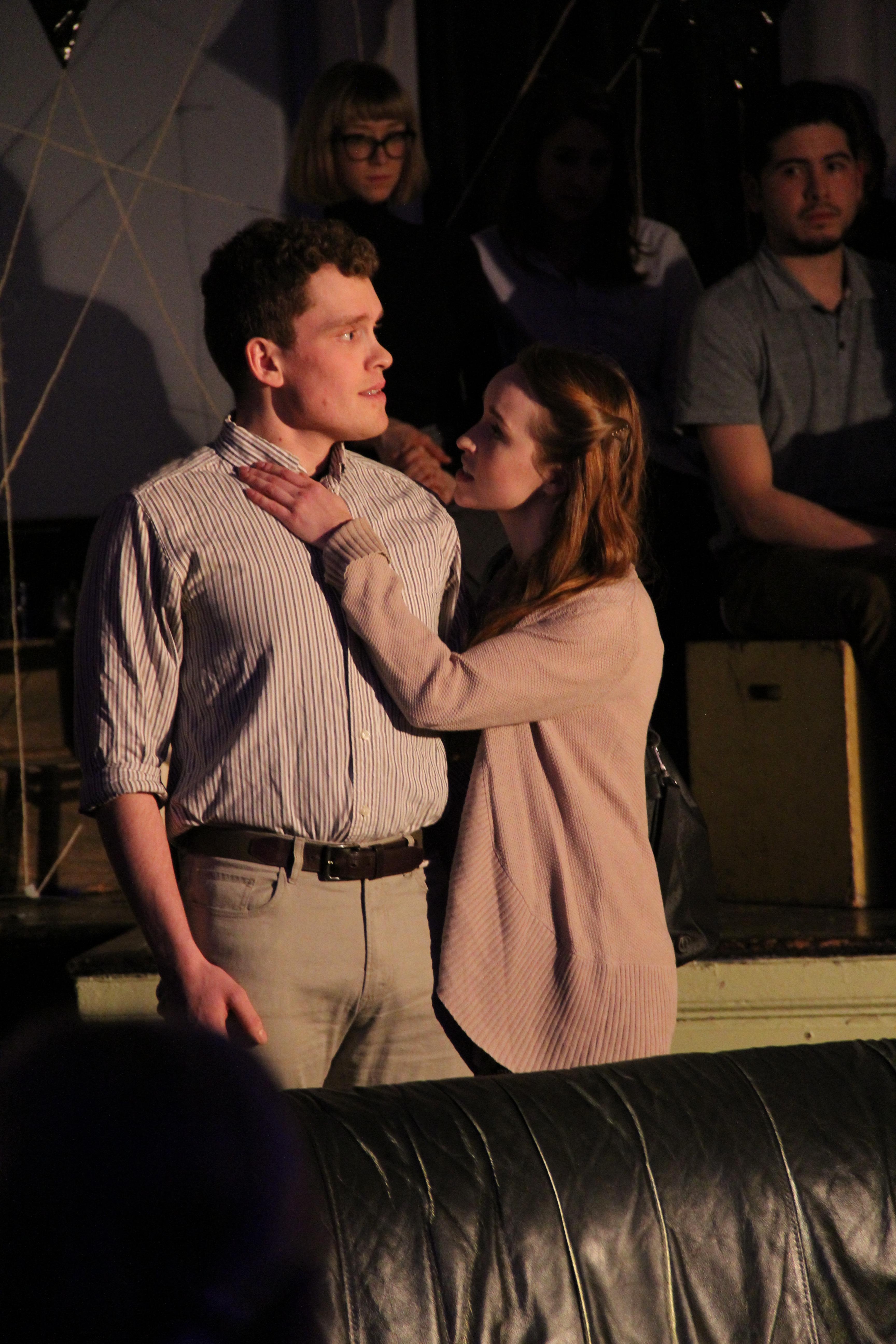 Johnny Pozzi & Rebecca Knowles